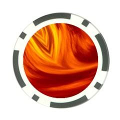 Wave Poker Chip by Siebenhuehner