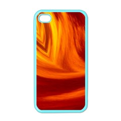 Wave Apple Iphone 4 Case (color) by Siebenhuehner