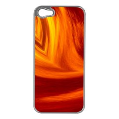 Wave Apple Iphone 5 Case (silver) by Siebenhuehner