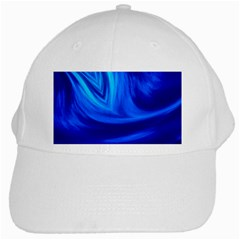 Wave White Baseball Cap by Siebenhuehner