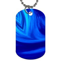 Wave Dog Tag (two Sided)  by Siebenhuehner