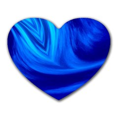 Wave Mouse Pad (heart) by Siebenhuehner