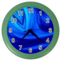 Wave Wall Clock (color) by Siebenhuehner