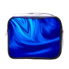 Wave Mini Travel Toiletry Bag (one Side) by Siebenhuehner