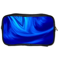 Wave Travel Toiletry Bag (one Side) by Siebenhuehner