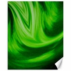 Wave Canvas 11  X 14  (unframed) by Siebenhuehner