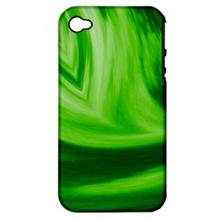 Wave Apple Iphone 4/4s Hardshell Case (pc+silicone) by Siebenhuehner