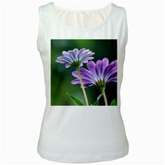 Flower Womens  Tank Top (white) by Siebenhuehner
