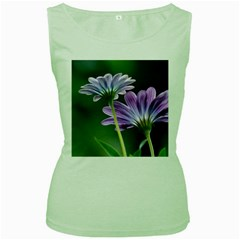 Flower Womens  Tank Top (green) by Siebenhuehner
