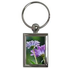 Flower Key Chain (rectangle) by Siebenhuehner