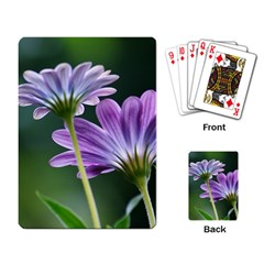 Flower Playing Cards Single Design by Siebenhuehner
