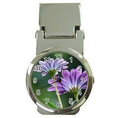 Flower Money Clip With Watch by Siebenhuehner