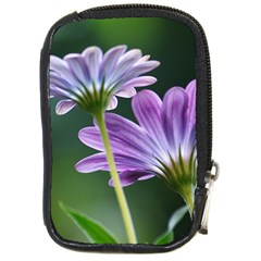 Flower Compact Camera Leather Case by Siebenhuehner