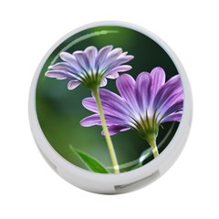 Flower 4 Port Usb Hub (one Side) by Siebenhuehner