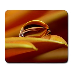 Waterdrop Large Mouse Pad (rectangle) by Siebenhuehner