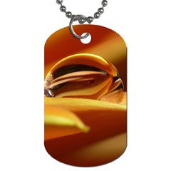 Waterdrop Dog Tag (one Sided) by Siebenhuehner