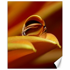 Waterdrop Canvas 11  X 14  (unframed) by Siebenhuehner