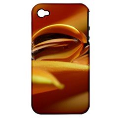 Waterdrop Apple Iphone 4/4s Hardshell Case (pc+silicone) by Siebenhuehner