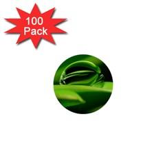 Waterdrop 1  Mini Button (100 Pack) by Siebenhuehner