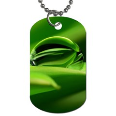 Waterdrop Dog Tag (two Sided)  by Siebenhuehner