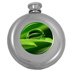 Waterdrop Hip Flask (round)