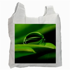 Waterdrop Recycle Bag (two Sides) by Siebenhuehner