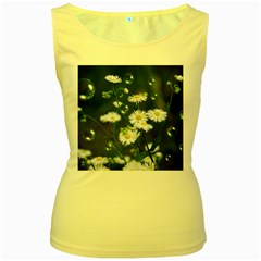 Magic Balls Womens  Tank Top (yellow) by Siebenhuehner