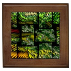 Modern Art Framed Ceramic Tile by Siebenhuehner
