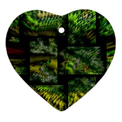 Modern Art Heart Ornament by Siebenhuehner