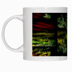 Modern Art White Coffee Mug by Siebenhuehner