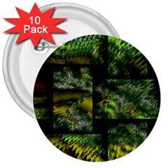 Modern Art 3  Button (10 Pack) by Siebenhuehner