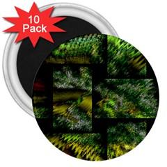 Modern Art 3  Button Magnet (10 Pack) by Siebenhuehner
