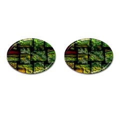 Modern Art Cufflinks (oval) by Siebenhuehner