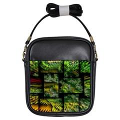 Modern Art Girl s Sling Bag by Siebenhuehner