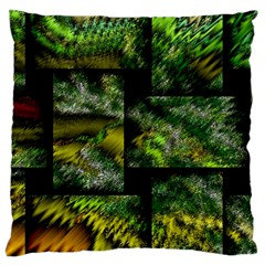 Modern Art Large Cushion Case (single Sided)  by Siebenhuehner