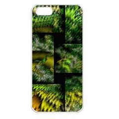 Modern Art Apple Iphone 5 Seamless Case (white) by Siebenhuehner