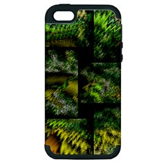 Modern Art Apple Iphone 5 Hardshell Case (pc+silicone) by Siebenhuehner