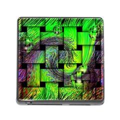 Modern Art Memory Card Reader With Storage (square) by Siebenhuehner