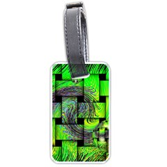 Modern Art Luggage Tag (one Side) by Siebenhuehner