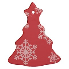 Let It Snow Christmas Tree Ornament