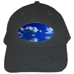 Sky Black Baseball Cap by Siebenhuehner