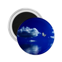 Sky 2 25  Button Magnet by Siebenhuehner