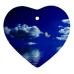 Sky Heart Ornament