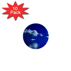 Sky 1  Mini Button (10 Pack) by Siebenhuehner