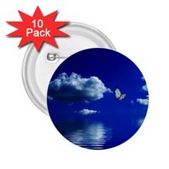 Sky 2 25  Button (10 Pack) by Siebenhuehner
