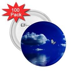 Sky 2 25  Button (100 Pack) by Siebenhuehner
