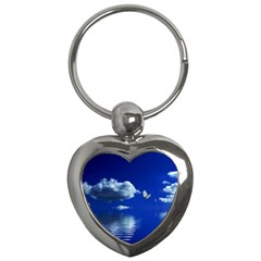 Sky Key Chain (heart) by Siebenhuehner