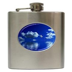Sky Hip Flask by Siebenhuehner