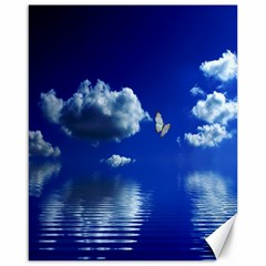 Sky Canvas 16  X 20  (unframed)
