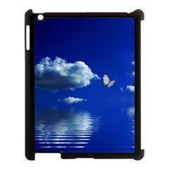 Sky Apple Ipad 3/4 Case (black) by Siebenhuehner